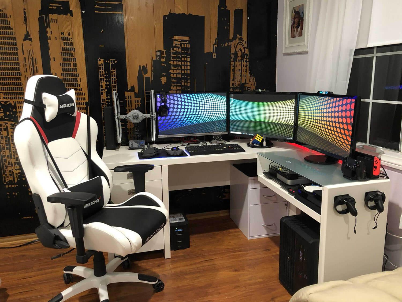 budget gaming setup