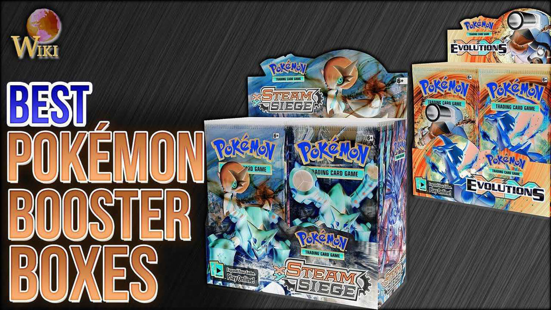 Pokemon Booster Boxes.