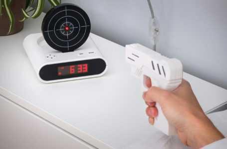 Laser Shooting Gun Alarm Gadget