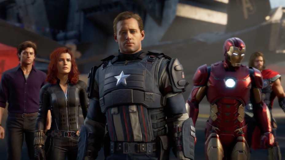 Marvel,s Avengers: A Day