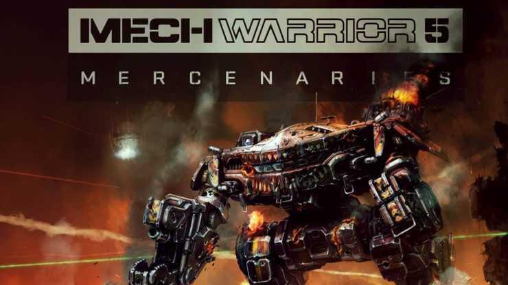 New Strategy Game for Hardcore Gamer (Mechwarrior 5)