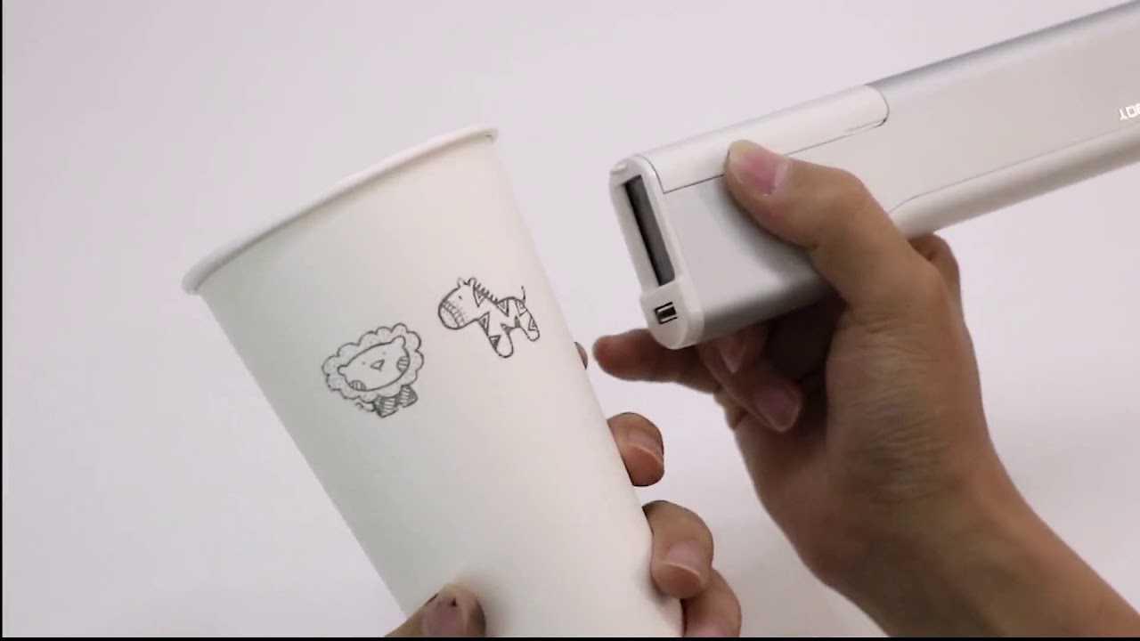 Evebot printing pen