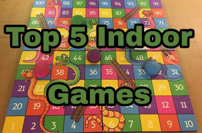 Top 5 most popular indoor Games