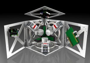 cube shaped robot
