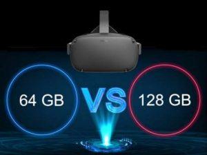 64 gb vs 128 gb VR