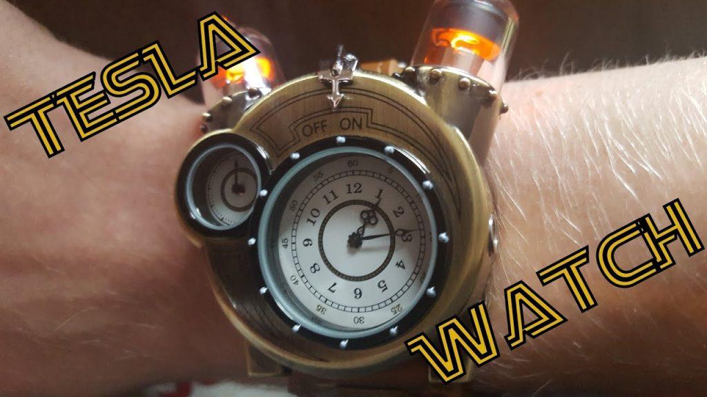 tesla watch features