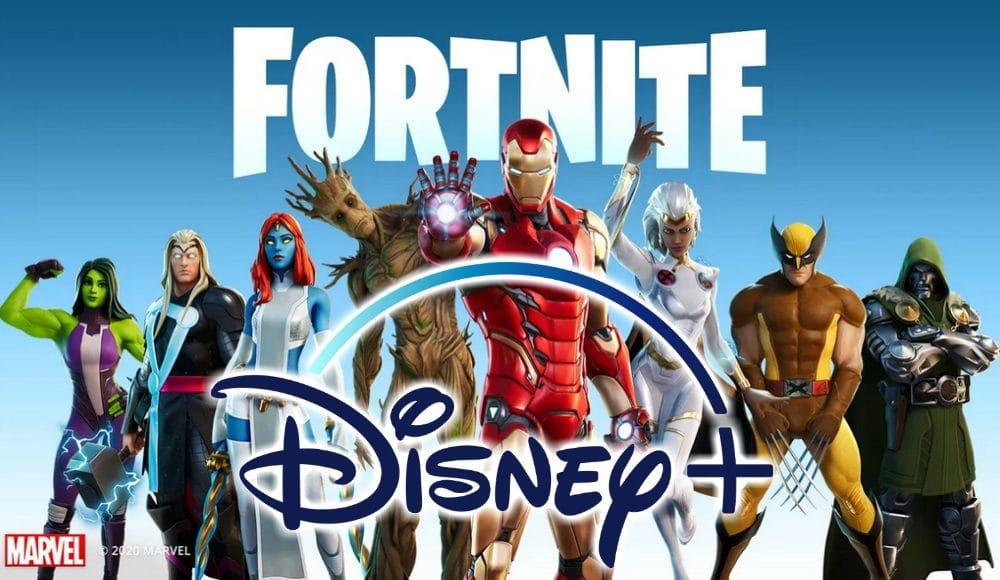 Fortnite Disney plus for free
