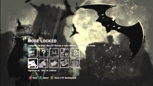 Several Modes in Batman Arkham City