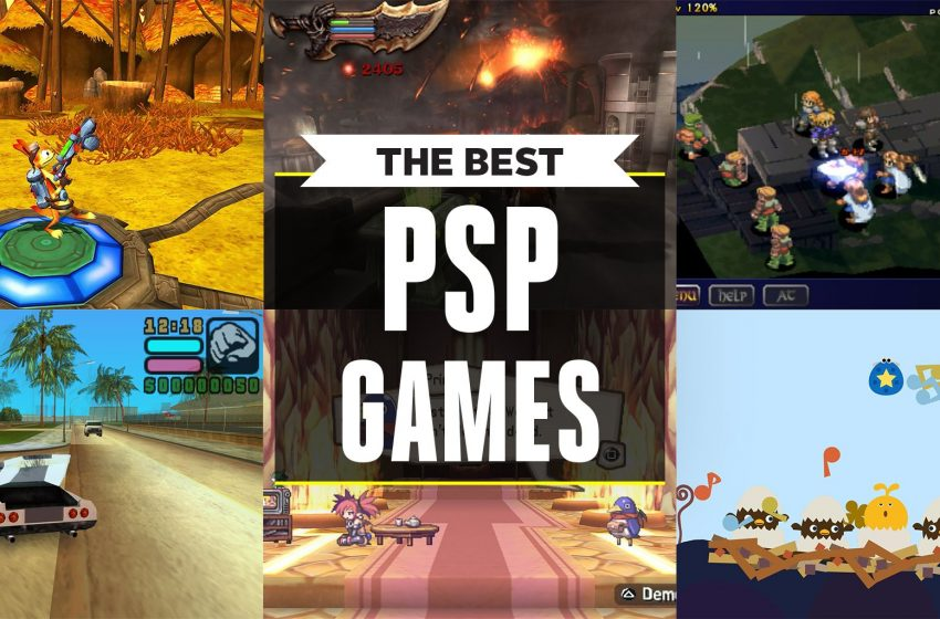 A List Of The Best PSP Games