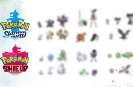 Pokemon Black And White - Pokemon Shield exclusives