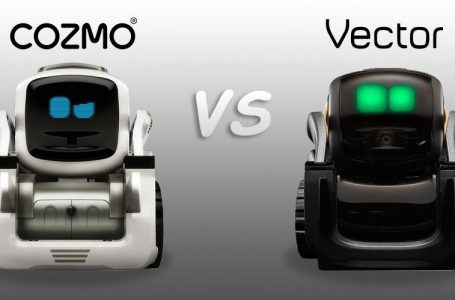 Compare The Cozmo Robot Vs Vector Robot