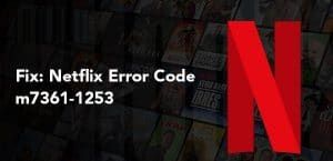 Netflix m7361-1253